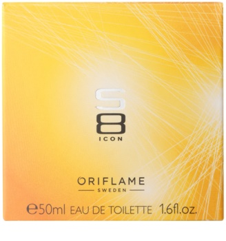 Oriflame S8 Icon toaletní voda pro muže 50 ml