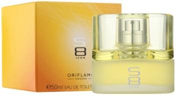Oriflame S8 Icon Eau de Toilette para homens 50 ml