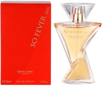 Oriflame So Fever Her parfémovaná voda pro ženy 50 ml