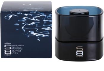 Oriflame S8 Night toaletní voda pro muže 50 ml