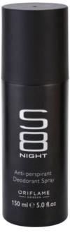 Oriflame S8 Night Deo-Spray für Herren 150 ml
