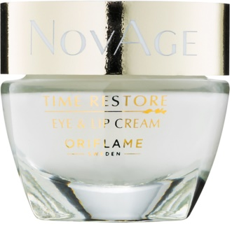 Oriflame Novage Time Restore crema para contorno de ojos y labios
