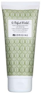Origins A Perfect World™ loção corporal intensamente hidratante com chá branco