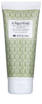 Origins A Perfect World™ vysoce hydratační tělové mléko s bílým čajem