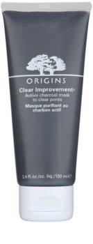 Origins Clear Improvement® reinigende Maske zur Reduktion von Hauttalg und zur Verkleinerung der Poren