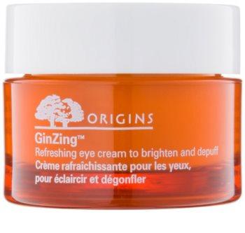 Origins GinZing™ osvěžující oční krém pro rozjasnění pleti