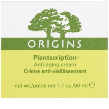 Origins Plantscription™ crema facial antiarrugas