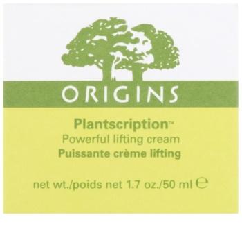 Origins Plantscription™ creme intensivo com efeito lifting