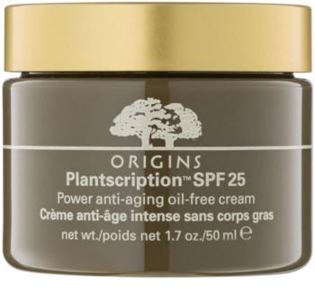 Origins Plantscription™ krém proti starnutiu bez obsahu oleja