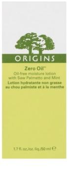 Origins Zero Oil™ leichte feuchtigkeitsspendende Creme strafft die Haut und verfeinert Poren