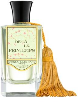 Oriza L. Legrand Deja le Printemps Eau de Parfum für Damen 100 ml