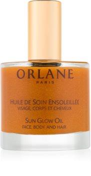 Orlane Sun Glow huile pailletée visage, corps et cheveux