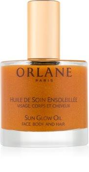 Orlane Sun Glow trblietavý olej na tvár, telo a vlasy