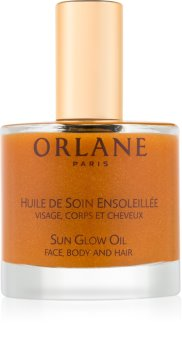 Orlane Sun Glow масло з мерехтливими частинками для обличчя, тіла та волосся