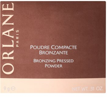 Orlane Make Up kompaktní bronzující pudr pro rozjasnění pleti