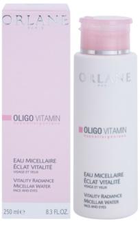 Orlane Oligo Vitamin Program почистваща мицеларна вода за лице и очи