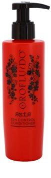 Orofluido Asia Zen condicionador alisante para cabelos crespos e inflexíveis