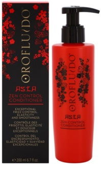 Orofluido Asia Zen uhlazující kondicionér pro nepoddajné a krepatějící se vlasy
