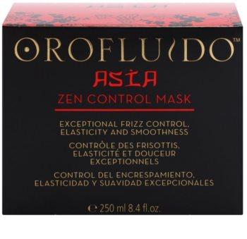 Orofluido Asia Zen hranilna maska za neobvladljive lase