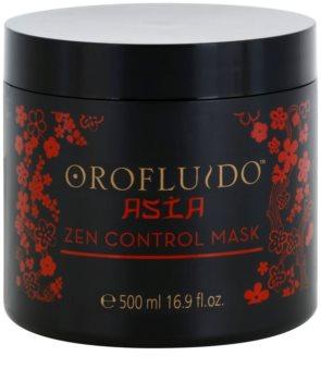 Orofluido Asia Zen máscara nutritiva para cabelos crespos e inflexíveis