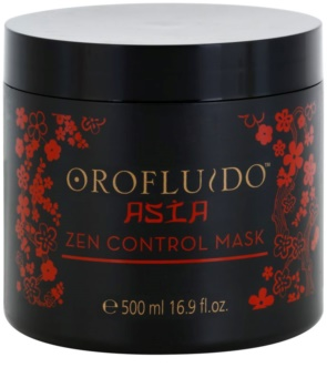 Orofluido Asia Zen vyživující maska pro nepoddajné a krepatějící se vlasy