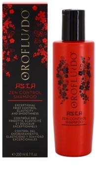 Orofluido Asia Zen vyživující šampon pro nepoddajné a krepatějící se vlasy