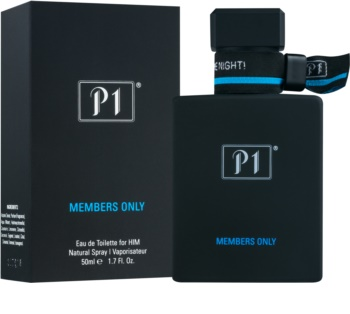 P1 Members Only Eau de Toilette für Herren 50 ml