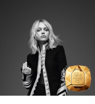Paco Rabanne Lady Million Eau de Parfum για γυναίκες 80 μλ