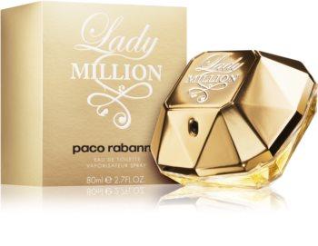 Paco Rabanne Lady Million eau de toilette pour femme 80 ml