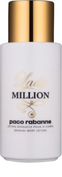 Paco Rabanne Lady Million lotion corps pour femme 200 ml