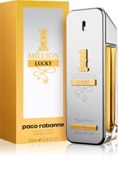637c0a12f7 Paco Rabanne 1 Million Lucky eau de toilette para homens 100 ml