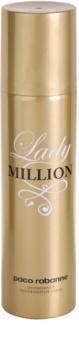 Paco Rabanne Lady Million desodorante en spray para mujer 150 ml