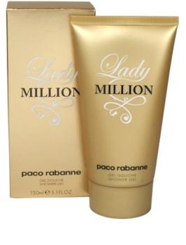 Paco Rabanne Lady Million gel douche pour femme 150 ml