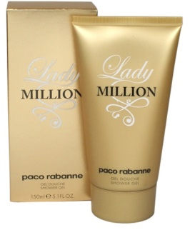 Paco Rabanne Lady Million gel za prhanje za ženske 150 ml