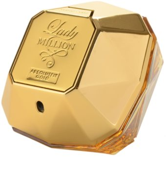 Paco Rabanne Lady Million Absolutely Gold perfume para mulheres 80 ml