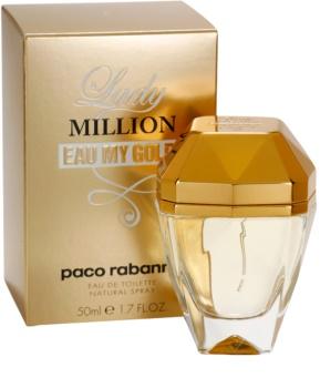 Paco Rabanne Lady Million Eau My Gold Eau de Toilette für Damen 50 ml