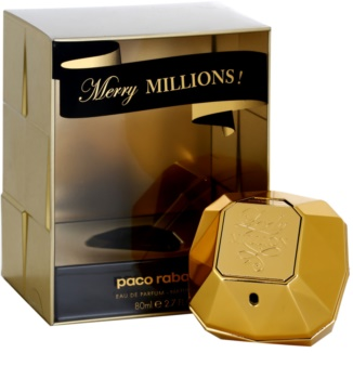 Paco Rabanne Lady Million Merry Millions Eau de Parfum für Damen 80 ml