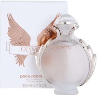 Paco Rabanne Olympéa Aqua Eau de Toilette für Damen 80 ml