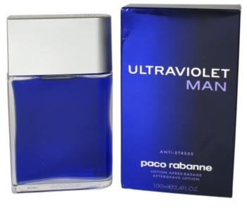 Paco Rabanne Ultraviolet Man Aftershave lotion  voor Mannen 100 ml