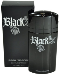 Paco Rabanne Black XS After Shave Lotion for Men 100 ml