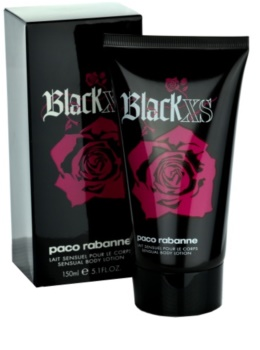 Paco Rabanne Black XS  For Her latte corpo per donna 150 ml