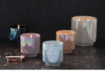 Paddywax Glow Cotton & Teak mirisna svijeća 481 g