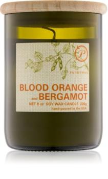 Paddywax Eco Green Blood Orange & Bergamot lumânare parfumată  226 g