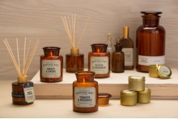Paddywax Apothecary Amber & Smoke Geurkaars 226 gr