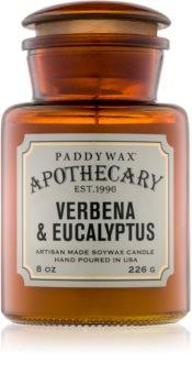Paddywax Apothecary Verbena & Eucalyptus vonná svíčka 226 g