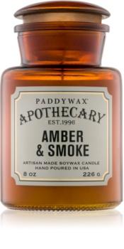 Paddywax Apothecary Amber & Smoke Duftkerze  226 g