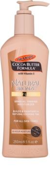 Palmer's Hand & Body Cocoa Butter Formula crème corporelle auto-bronzante pour un bronzage progressif