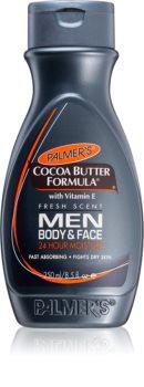 Palmer's Men Cocoa Butter Formula crema idratante corpo e viso con vitamina E
