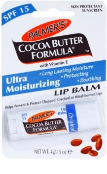 Palmer's Face & Lip Cocoa Butter Formula hydratačný balzam na pery SPF 15