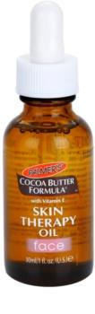 Palmer's Palmer's Face & Lip Cocoa Butter Formula óleo de cuidado anti-idade de pele